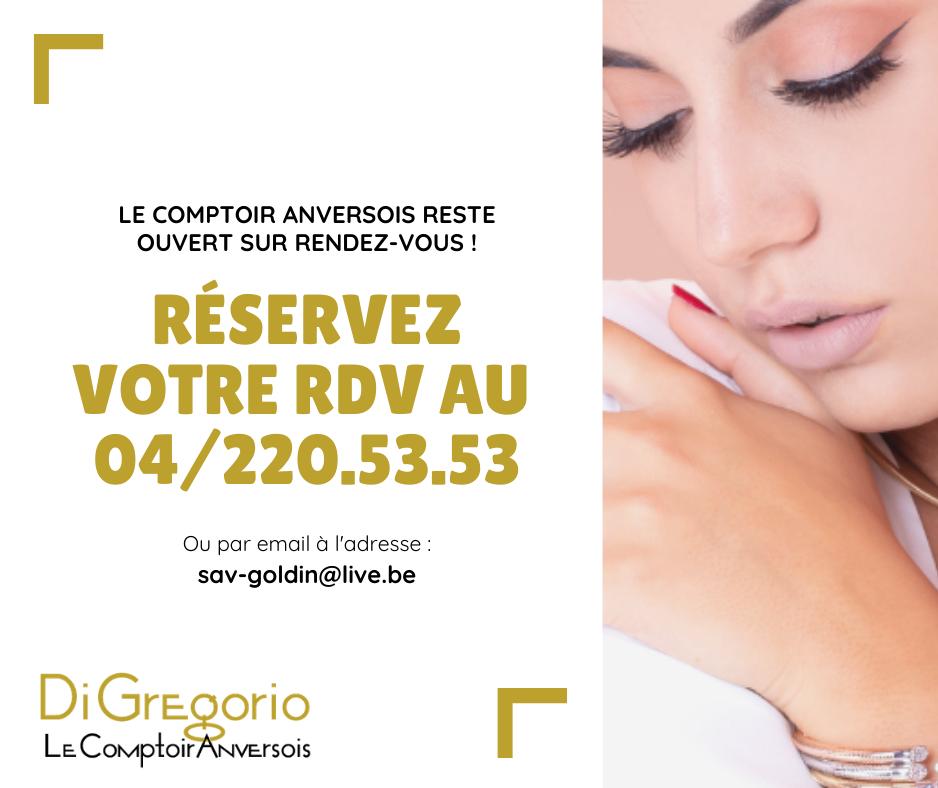 DiGregorio - Reservez votre RDV